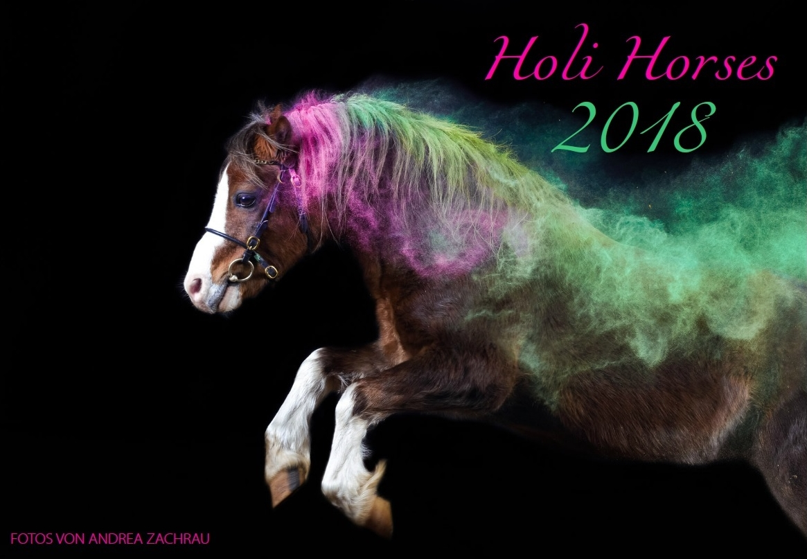 Holi Horses Kalender