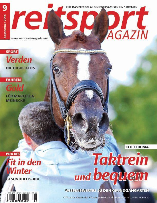 Reitsport Magazin September 2014
